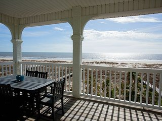 Gulf front home that is perfect for families.