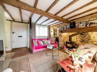 One Church Cottage is a lovely home with charming period features in Todenham