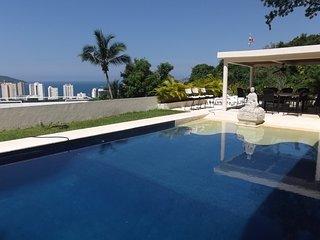 Vista Panorámica Bahía Acapulco Costa Azul - Acapulco Bay Panoramic View