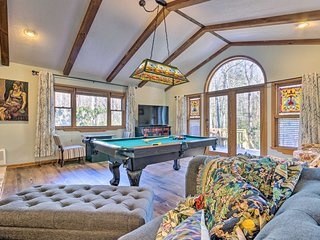 Private Blue Ridge Retreat: Hot Tub & Pool Table!