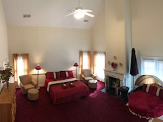 Beautiful 900 Square Ft Master Bedroom with 20 Ft Ceiling