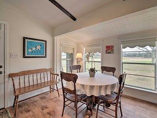 Carmine Cottage on 60-Acre Farm w/Porch & Pond!