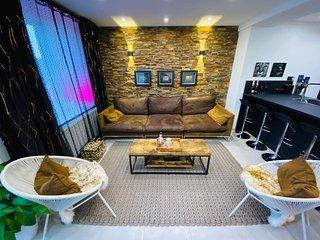 Bel appartement chic et chaleureux