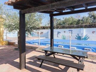 Chalet los Delfines con piscina