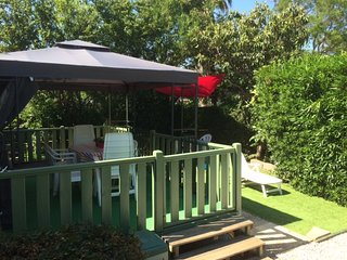 Quality Mobile Home on 4* family park close to beaches and shops