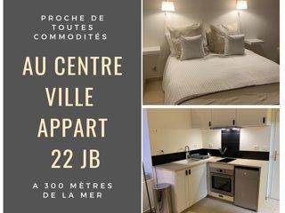 Appart 22JB plein centre ville Concarneau