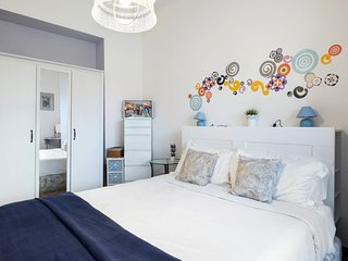 Lovely one-bed flat w/Balcony 15min from Colosseum