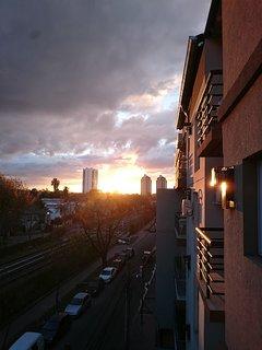 Increibles puestas de sol a la vista