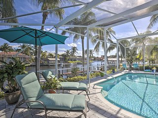 NEW! 'Coral Sunrise' Retreat w/Pool, Dock & Patio!