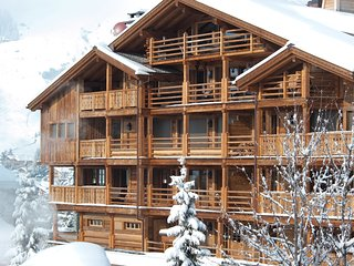 104 La Vallèe Blanche Luxury 170 sq mt, 4 bedroom Chalet in the heart of Verbier