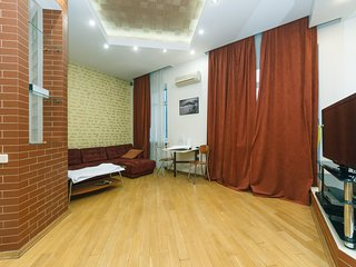 One bedroom Luxe 20 VVasylkivska str With sauna