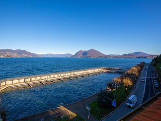 Enchanting View on Stresa Promenade