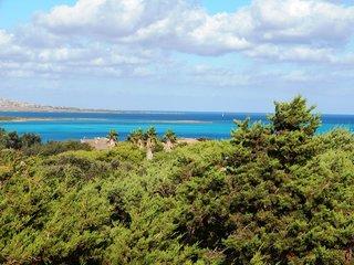 BILO MIRTO: elegante bilocale zona spiaggia la Pelosa, 4 persone