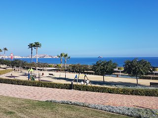 Mar de Pulpi 153. Frontline apartment with WIFI and airco. 200m from the Sea.