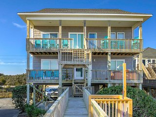 Island Drive 4414 Oceanfront! | Hot Tub, Internet, Pet Friendly, Game Equipment