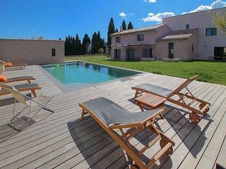 Mas para 17 pers. en Le Castellet, Var, piscina privada