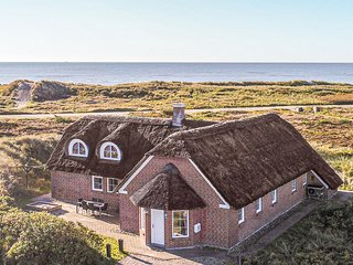 Amazing home in Blavand w/ Sauna, WiFi and 6 Bedrooms (A3002)