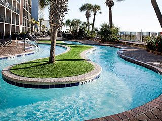 WATCH THE WAVES FROM YOUR 10th Floor BALCONY! Vacation at Compass Cove is sure t