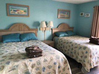 BIG 2 BEDROOM/2.5 BATH STEPS TO THE BEACH. Room for 10 and small dog friendly (w