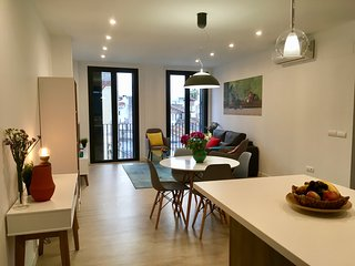Calle Parras 10, a light, spacious flat in Malaga Centro