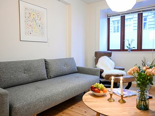 Cozy One-bedroom apartment on the ground floor in Copenhagen Østerbro