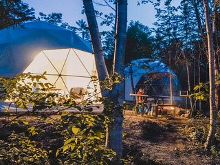 Blue Bayou Resort King size suite Geodesic Dome Just off the Cabot Trail