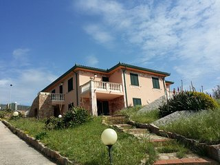 Villa La Ciaccia on the sea