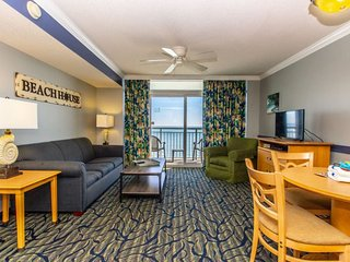 Oceanfront One Bedroom Suite at Paradise Resort~Unit 1408