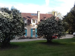 'Cintrac'  A beautiful French Country House with fabulous gardens & pool.