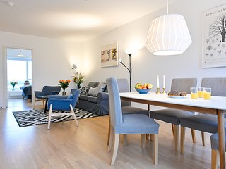 Three-bedroom Apartment with a Balcony in Copenhagen Orestad near metro station