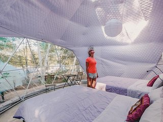 Blue Bayou Resort 2 queen size suite Geodesic Dome Just off the Cabot Trail