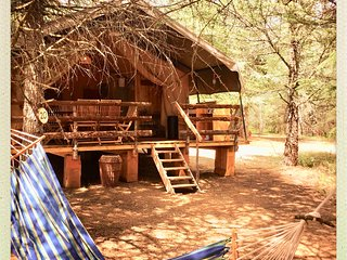 Glamping en Safari Lodge