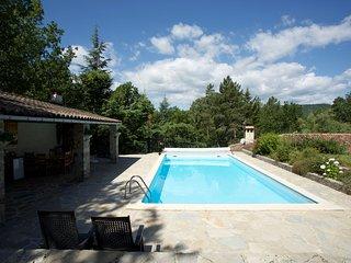 Villa Les Brousses, luxe villa op een privédomein van 4 ha.