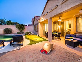 Relaxing Heated Pool, Fun Game Room, Prime Location, Outdoor Putting Green, More