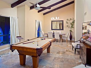 Relaxing Heated Pool, Private Volleyball Court, Fun Game Room, And Much More