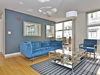 Evon - Downtown - Gorgeous 2BD/1BA Apt Near Subway T05