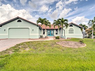 NEW! Port Charlotte Paradise w/Pool, Lanai & Dock!