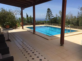 Anemospito 1 Apt/studio Superb Seaview With Pool