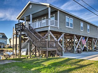 NEW! Unique Waterfront Slidell Home w/ Boat Slip