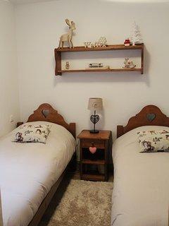 Seconde chambre (2 lits jumeaux)