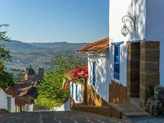 Tocagua 3, la esquina de la calle más linda de Barichara