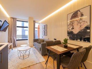 Estudio.3 Economico · Bilbao Metropolitan Apartments A/C by Urban Hosts