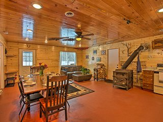 NEW! Mancelona Forest Lodge on 330 Private Acres!