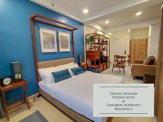 Deluxe Holiday Studio Suite Timurbay w/ Seaview