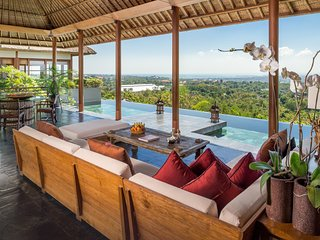 Luxury six bedroom design villa, Jimbaran with incredible view