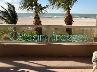 Direct Beachfront W/ Luxurious Amenities at Crescent Beach Club!
