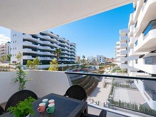 Modern apartment in a new built luxurious complex