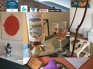 FREJUS-PLAGE -  A deux pas de la plage, agreable appartement avec WIFI gratuit.