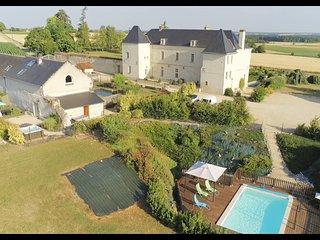 Gîte 'La Volière' dépendance restaurée du Château des Coudreaux