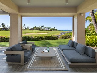 New to Market!  Ocean Views & Contemporary - Hillside Villa #7101 at Four Season